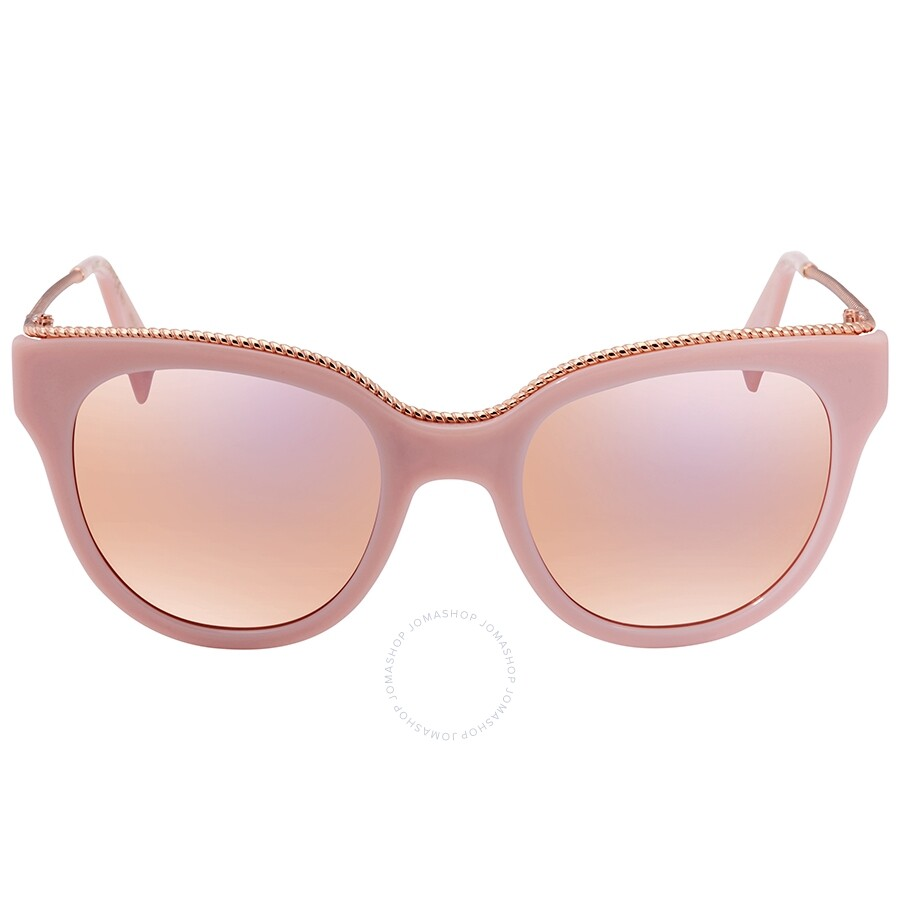 b3d0c773fe12d ... Marc Jacobs Marc Rose Gold Cat Eye Ladies Sunglasses MARC165S 035J 0J 51  ...