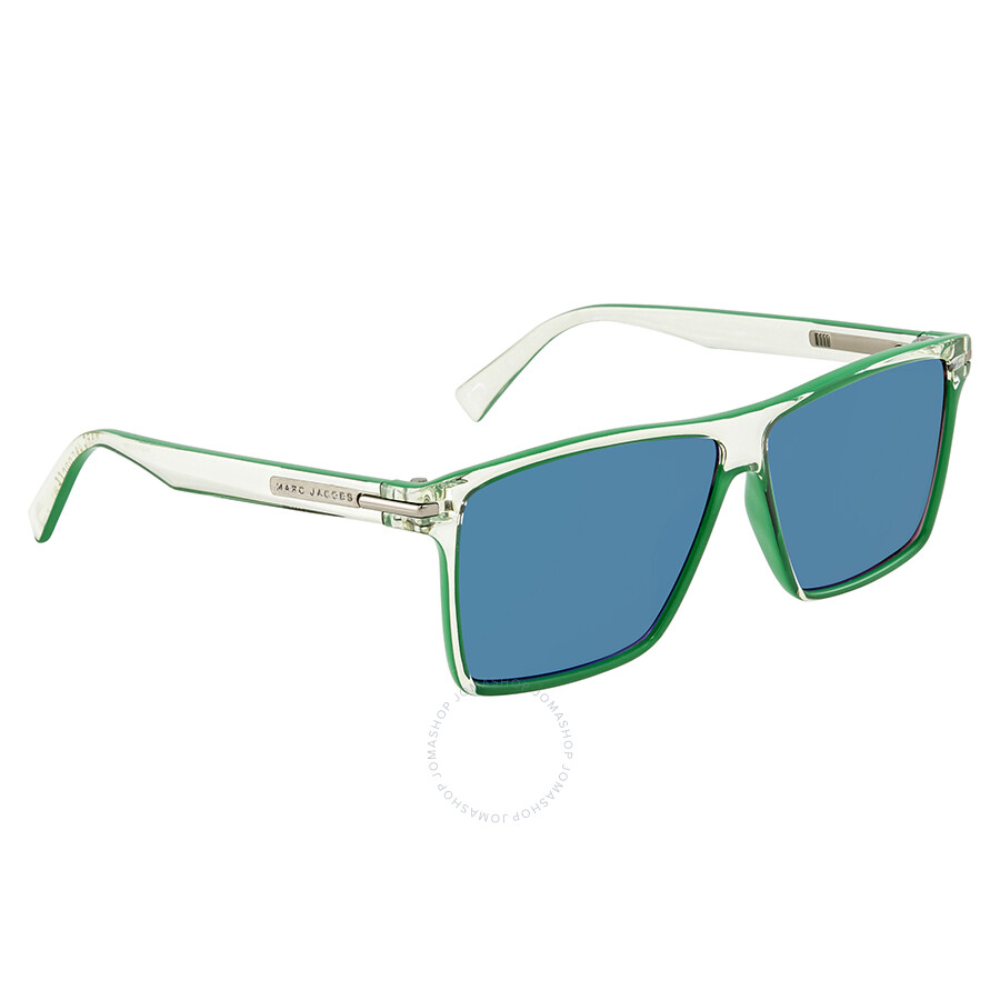 6a660328dc4 Marc Jacobs Mirror Green Square Sunglasses MARC222S 00OX T5 58 ...