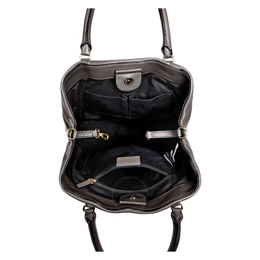 f93a2bddb1d7 Marc Jacobs New Q Fran Leather Crossbody Bag - Faded Aluminum - Marc ...