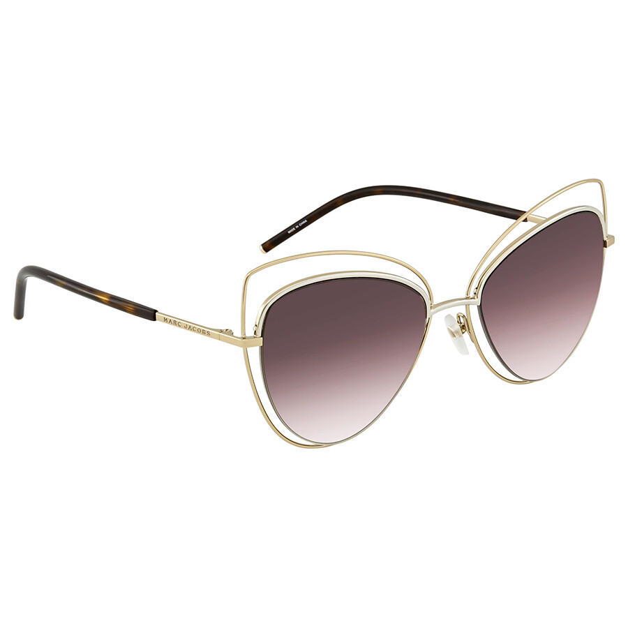 44cbd17033 Marc Jacobs Pink Gradient Cat Eye Ladies Sunglasses MARC8S 0APQ HA 56 ...