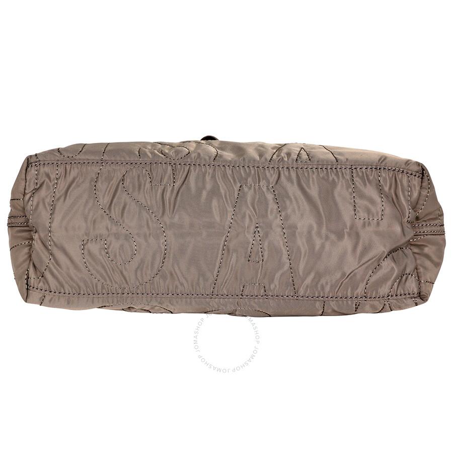 50b3e092f9 Marc Jacobs Pretty Nylon Medium Tate Tote - Quartz Grey - Marc by ...
