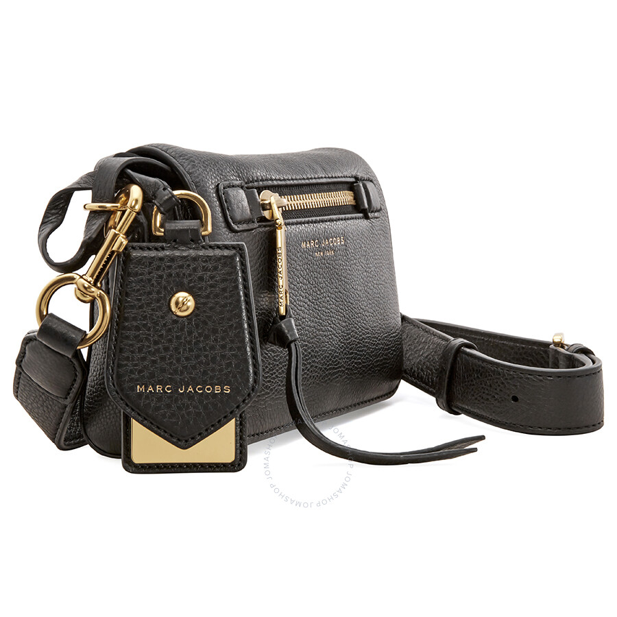 da4fe43729ad Marc Jacobs Recruit Leather Crossbody Bag - Black - Marc by Marc ...