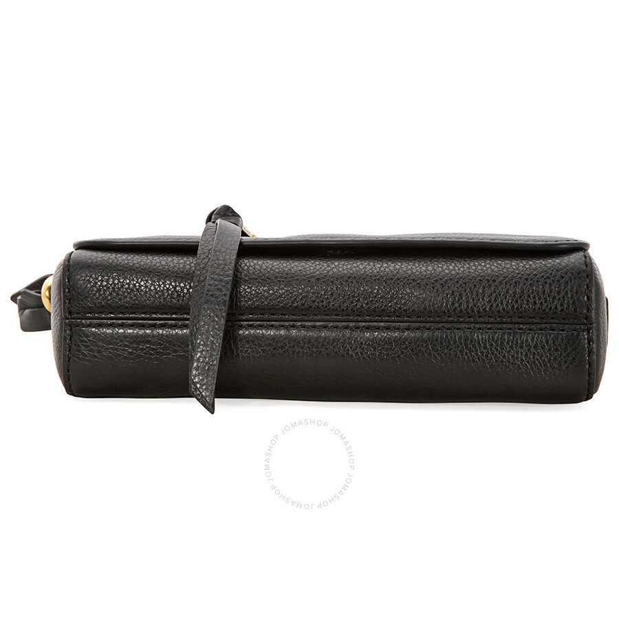 258510b87 Marc Jacobs Recruit Leather Crossbody Bag - Black - Marc by Marc ...