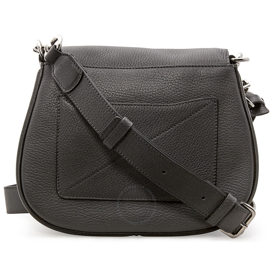 ad8761c5cb Marc Jacobs Recruit Nomad Small Pebbled Leather Saddle Bag- Shadow ...