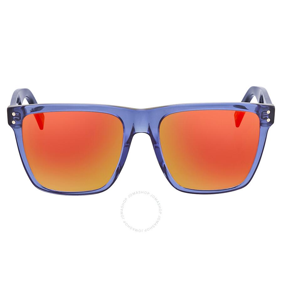 2fbe2c84b304c ... Marc Jacobs Red Mirror Square Sunglasses MARC 119 S 0274 UZ 54 ...
