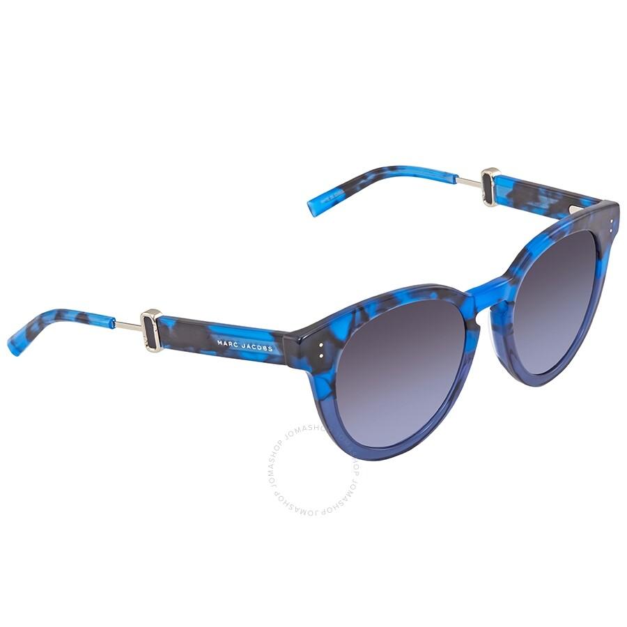 a8a2e8b2e113 Marc Jacobs Round Blue Havana Sunglasses MARC 129/S 0U1T 50 Item No. MARC  129/S 0U1T 50