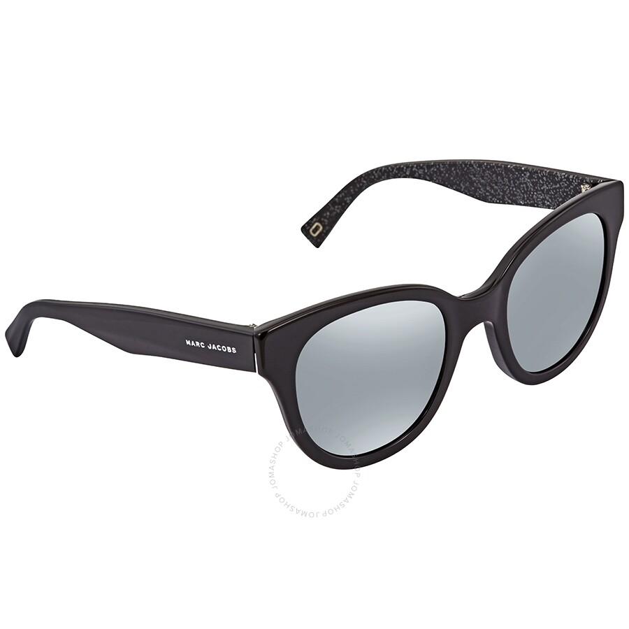 c98d0700ca94 MARC JACOBS Silver Mirror Cat Eye Ladies Sunglasses MARC 231/S NS850T4 ...