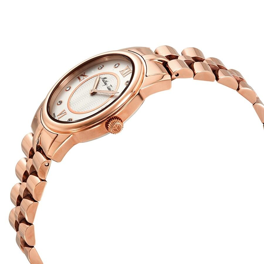 Artemis Crystal White Dial Ladies Watch D1086PI
