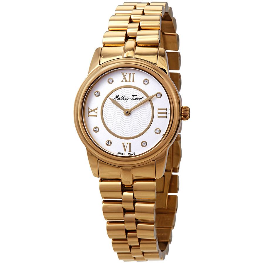 Artemis Crystal White Dial Ladies Watch D1086PYI