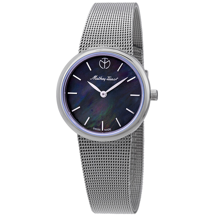 Milly Black Mother of Pearl Dial Ladies Watch D403AN