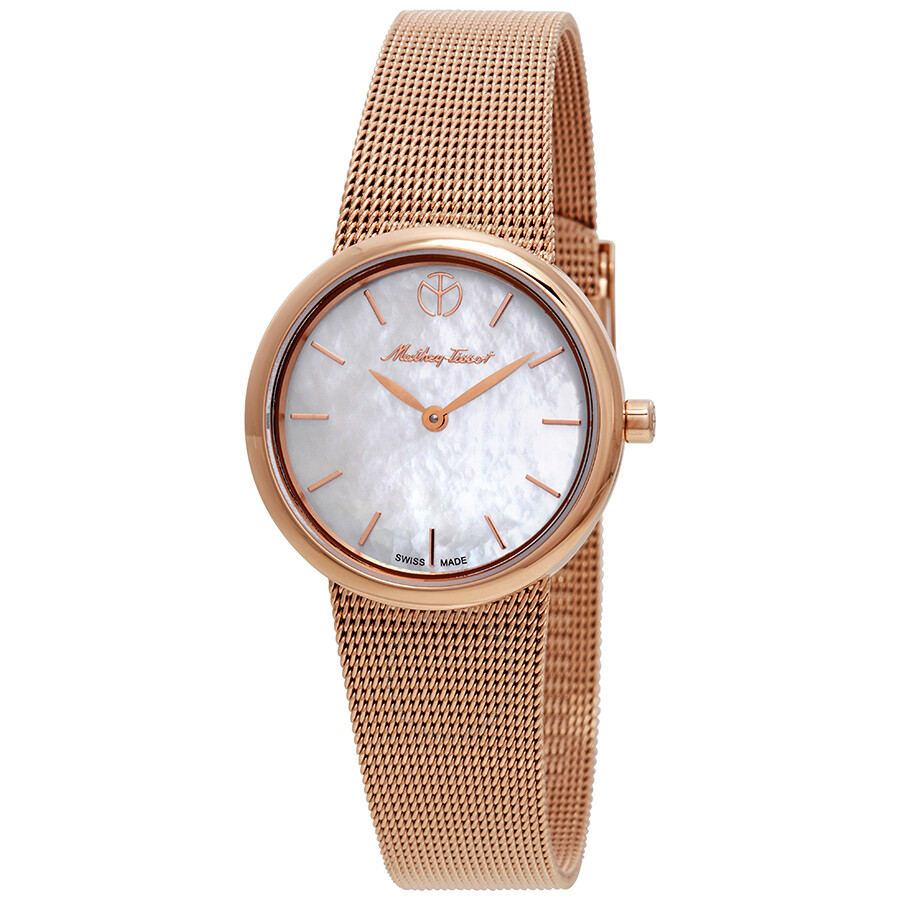 Milly Quartz Mother of Pearl Dial Ladies Watch D403PI