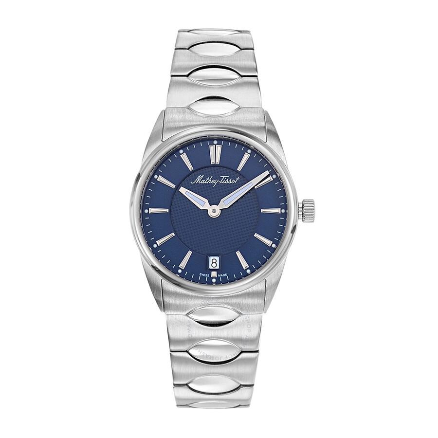 Anaconda Quartz Blue Dial Ladies Watch D791ABU