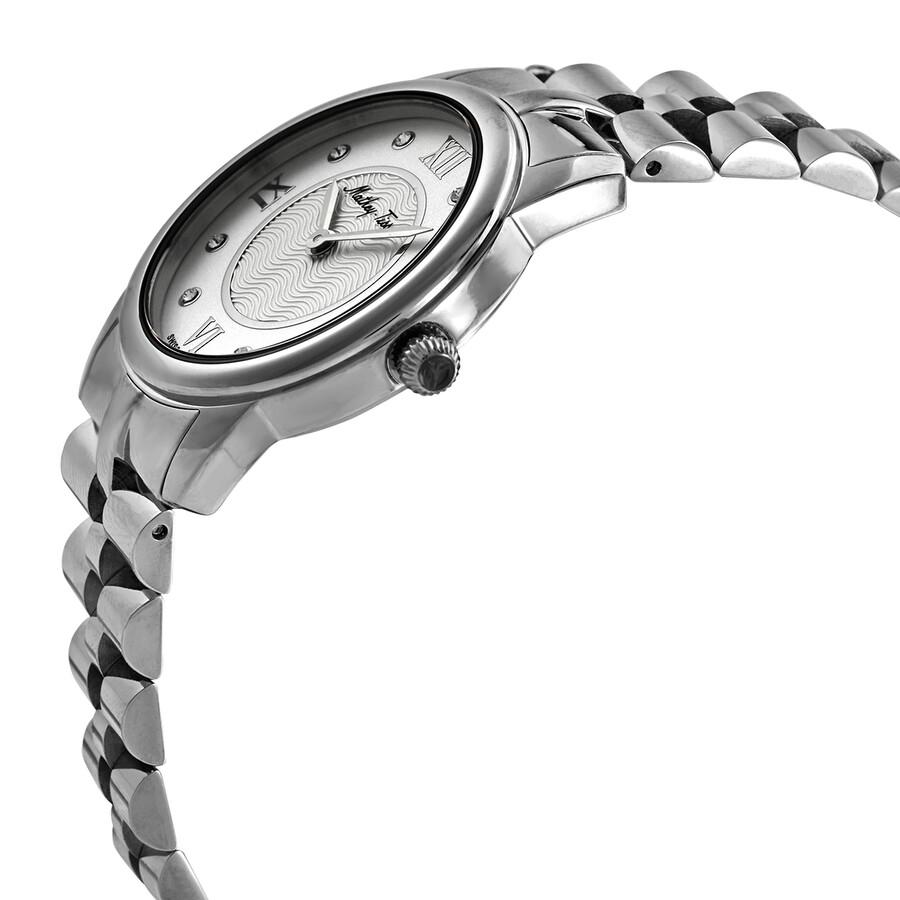 Artemis Crystal Silver Dial Ladies Watch D1086AI