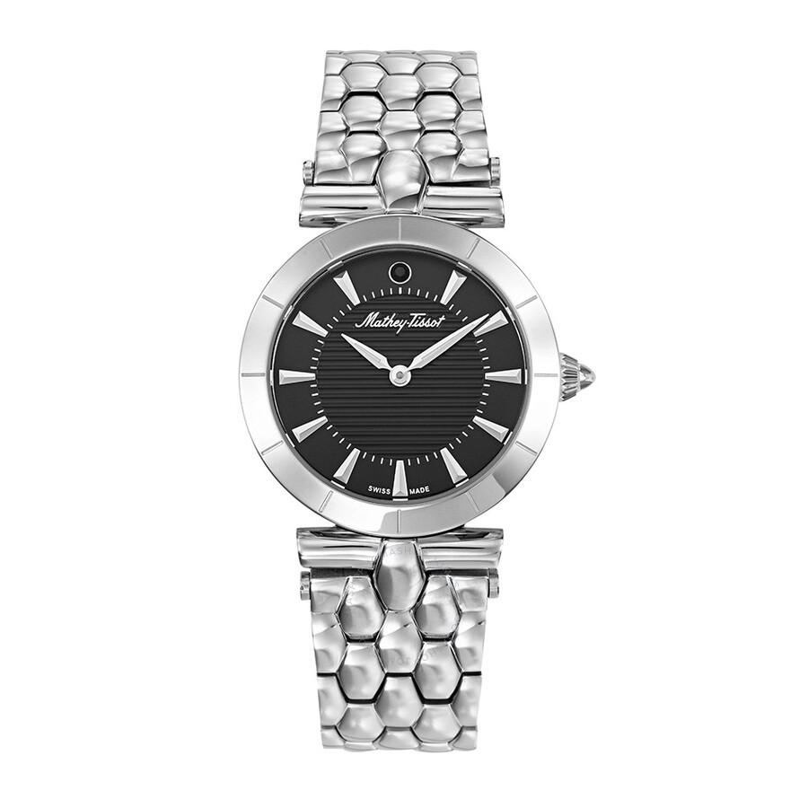 Tarta Quartz Black Dial Ladies Watch D106AN