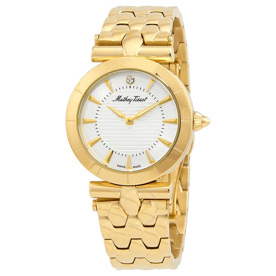 Tarta Quartz White Dial Ladies Watch D106PI