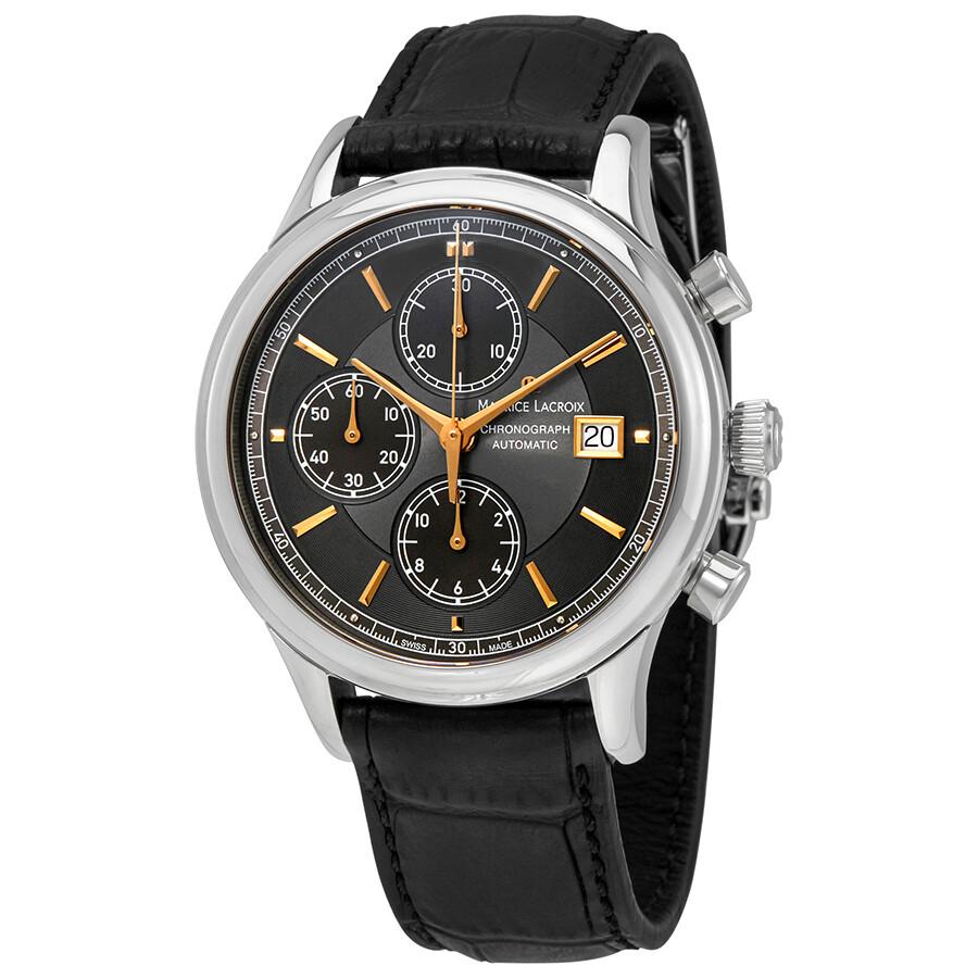 Maurice lacroix les classiques chronograph automatic men 39 s watch lc6158 ss001 330 les for Maurice lacroix watches