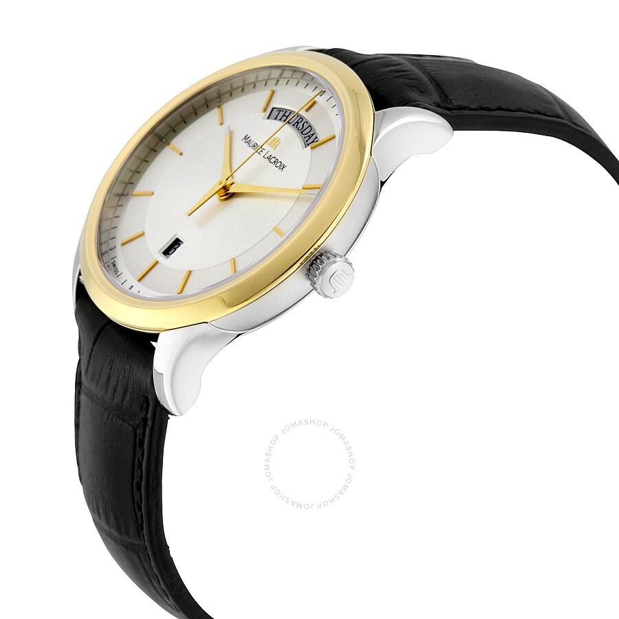 Maurice lacroix les classiques men 39 s watch lc1227 pvy11 130 les classiques maurice lacroix for Maurice lacroix watches