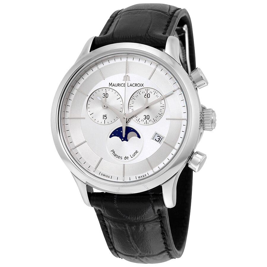 Maurice lacroix les classiques silver dial chronograph men 39 s watch lc1148 ss001 131 les for Maurice lacroix watches