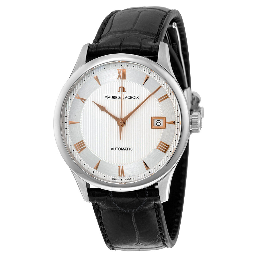 Maurice lacroix masterpiece date automatic men 39 s watch mp6407 ss001 110 masterpiece maurice for Maurice lacroix watches