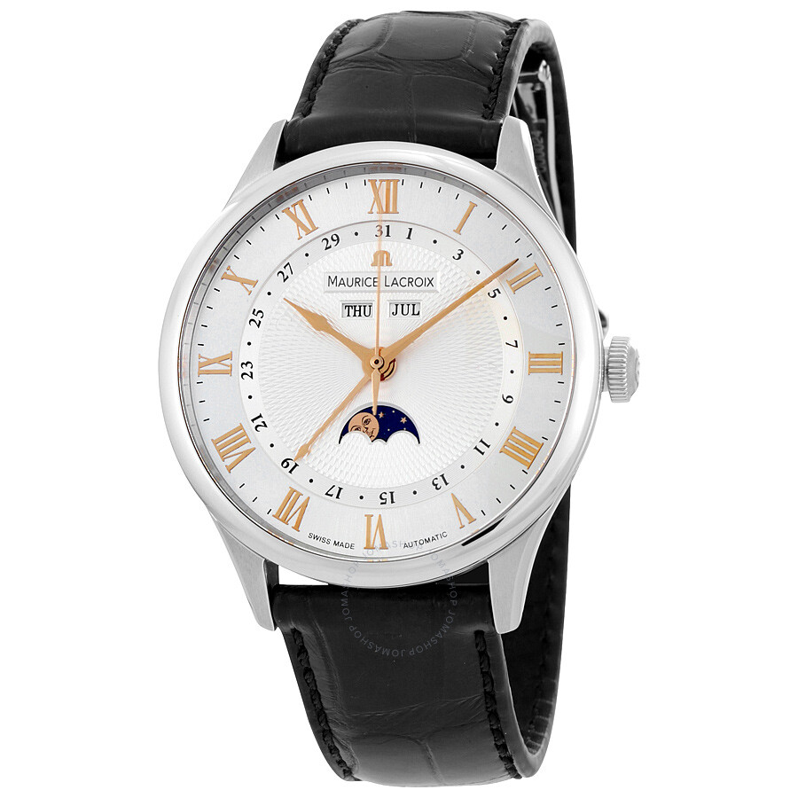 Maurice lacroix masterpiece phase de lune men 39 s watch mp6607 ss001 111 masterpiece maurice for Maurice lacroix watches