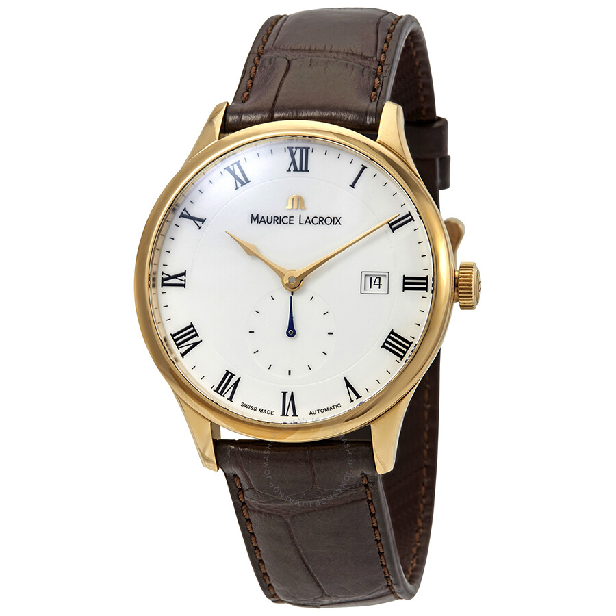 4aa8bf4069 Maurice Lacroix Masterpiece Tradition White Dial Men's Watch  MP6907-PG101-113 ...