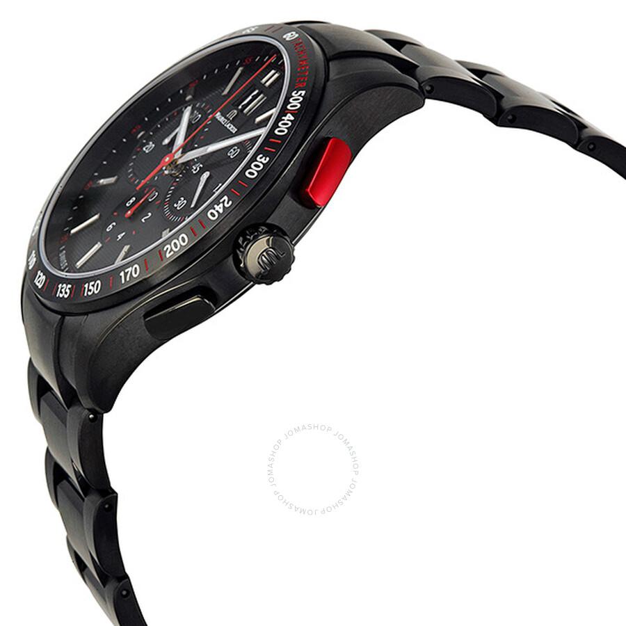 Часы Maurice Lacroix с черным циферблатом купить оригинал
