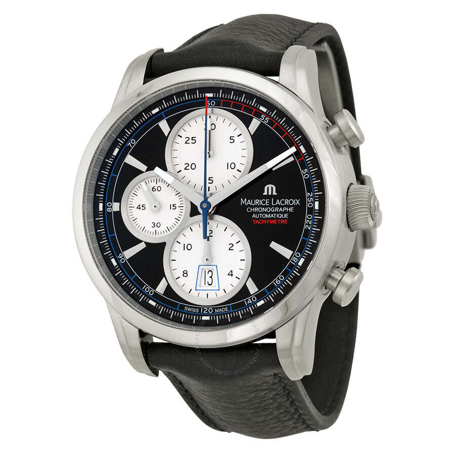 Maurice lacroix pontos chronograph men 39 s watch pt6288 ss001330 pontos maurice lacroix for Maurice lacroix watches