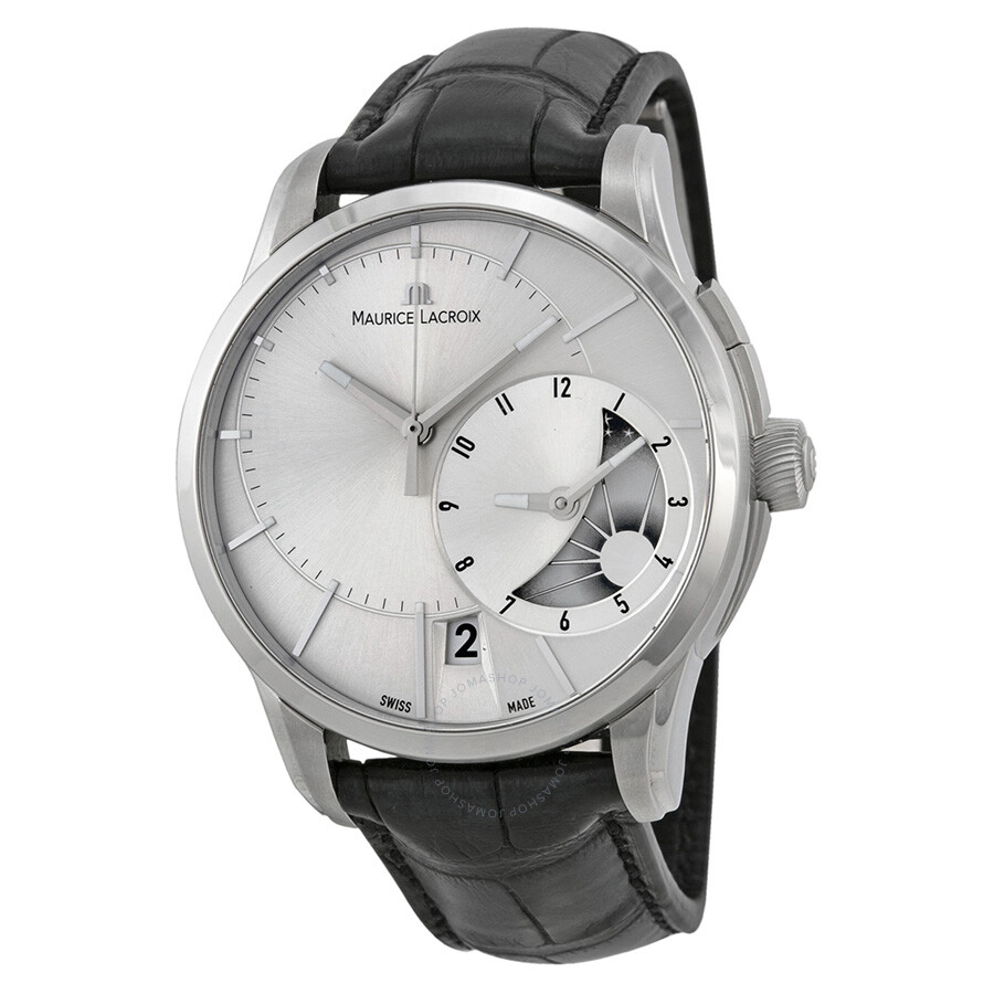 Maurice lacroix pontos decentrique gmt men 39 s watch pt6118 ss001 131 pontos maurice lacroix for Maurice lacroix watches