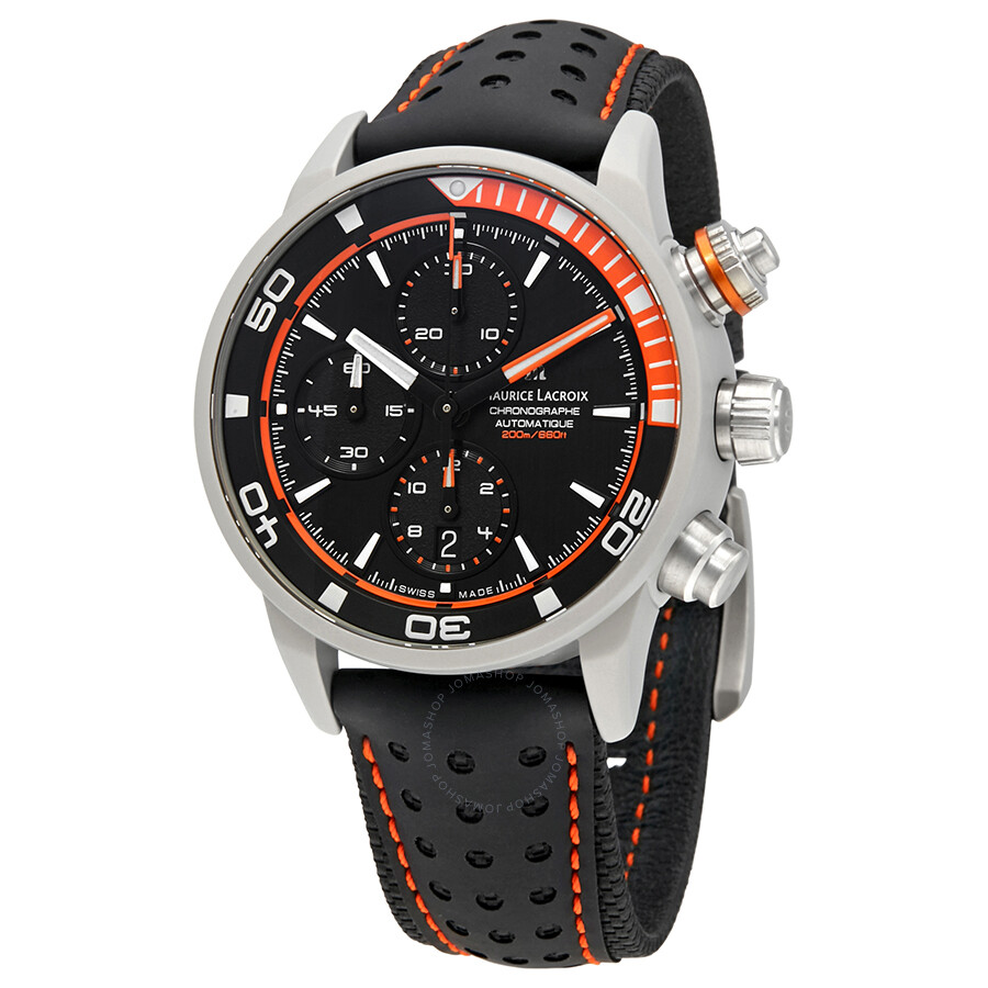 Maurice lacroix pontos s extreme chronograph automatic men 39 s watch pt6028 alb31 331 pontos for Maurice lacroix watches