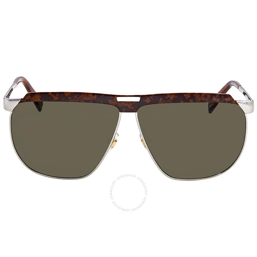 ad405a594403c MCM Green Rectangular Men s Sunglasses MCM 113S 724 61 - MCM ...