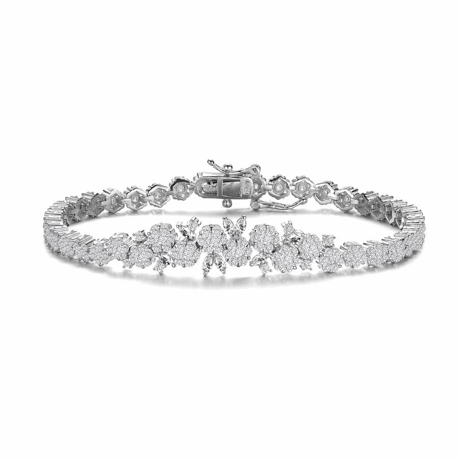 Megan Walford Sterling Silver Marquise