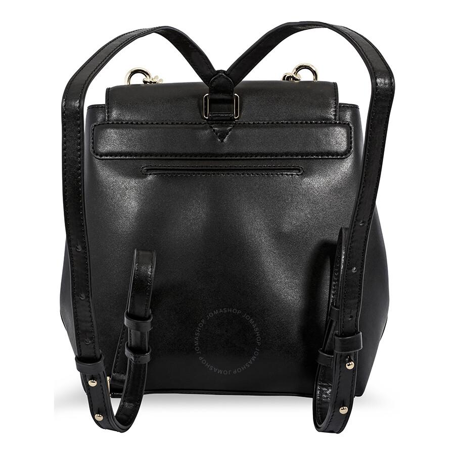 bd66f1dc1865 Michael Korrs Mott Leather Backpack - Black - Michael Kors Handbags ...