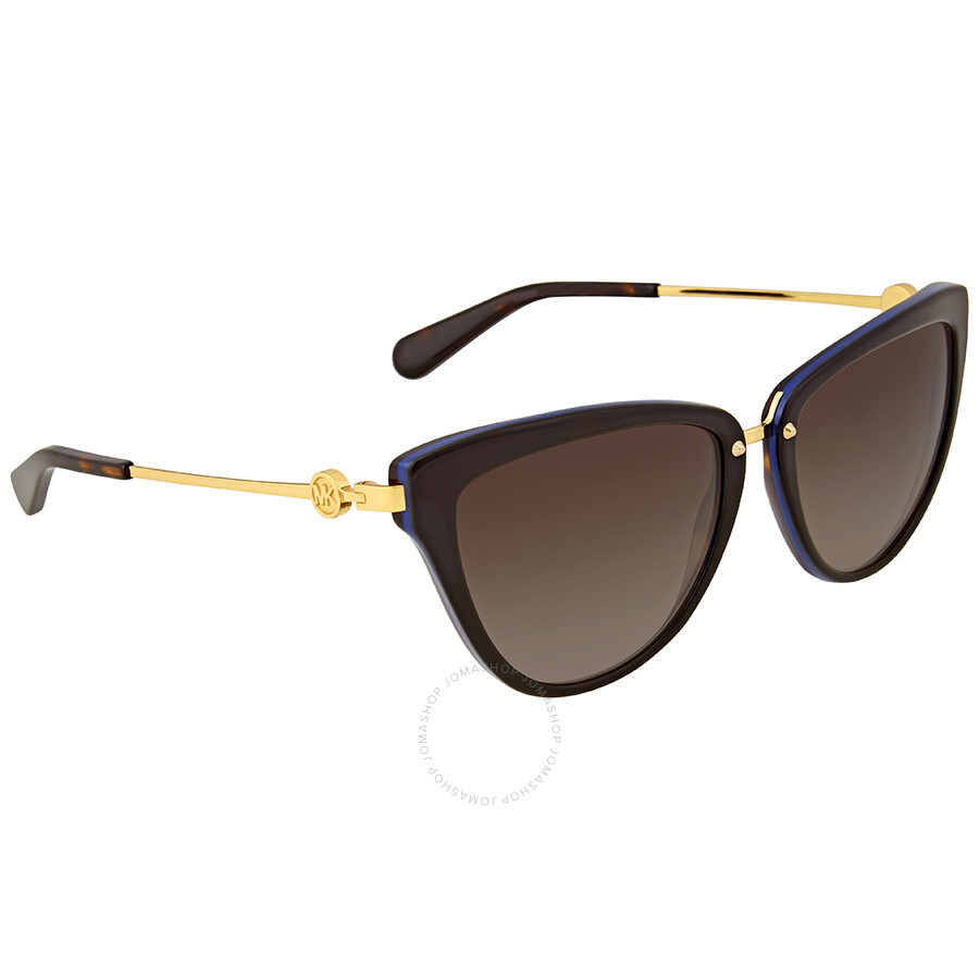 35602be22ad0f Michael Kors Abela II Brown Gradient Cat Eye Sunglasses - Michael ...