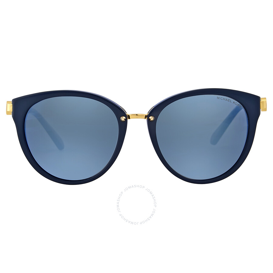 264f2d0ca692 Michael Kors Abela III Blue Mirror Cat Eye Sunglasses Item No.  MK6040-313455-55