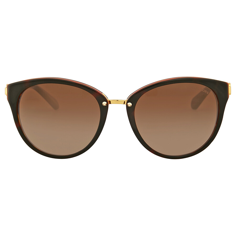 4d952bf217 Michael Kors Abela III Brown Gradient Cat Eye Sunglasses Item No. MK6040- 313013-55