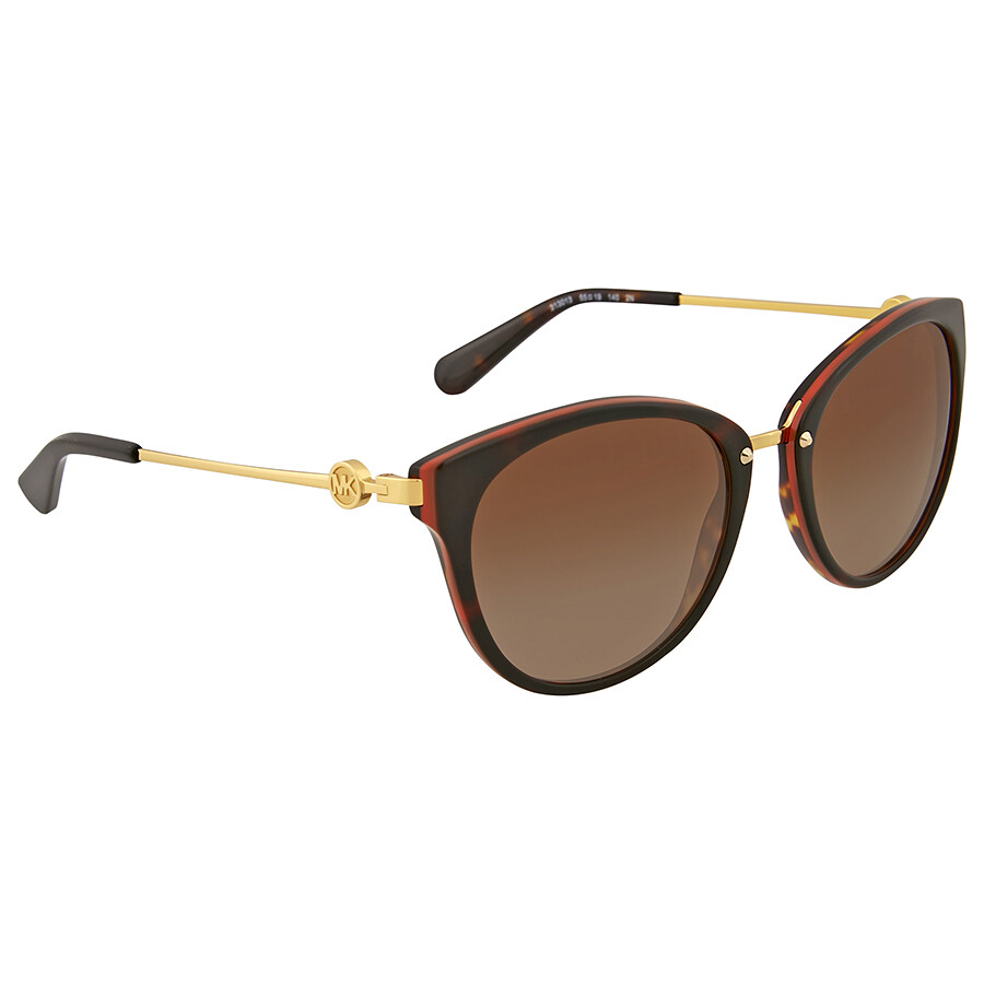 b8cbed37df Michael Kors Abela III Brown Gradient Cat Eye Sunglasses - Michael ...