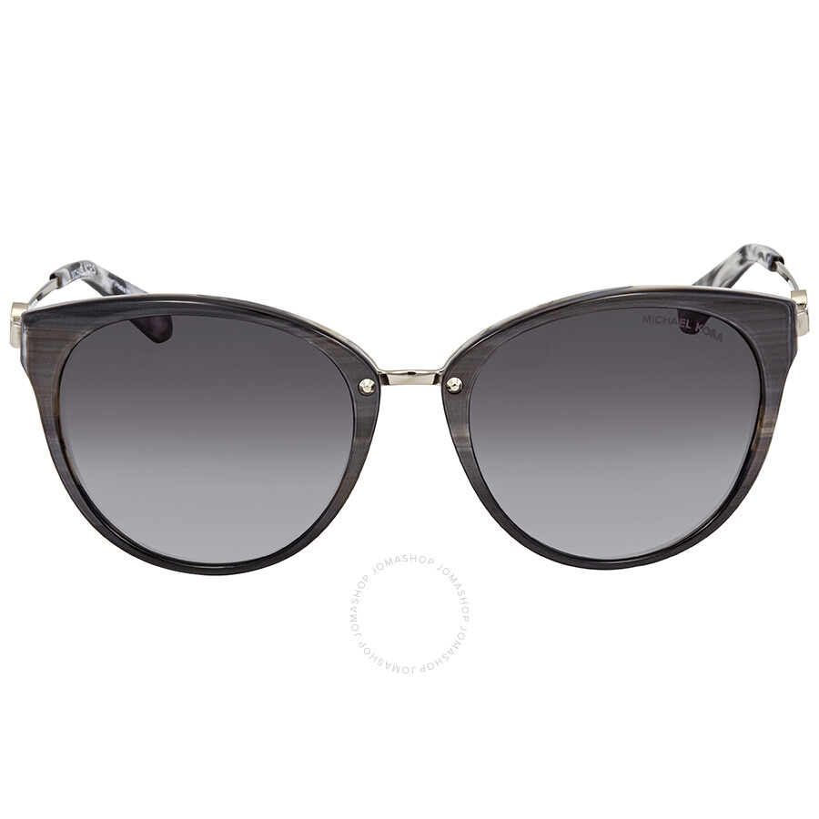 26d55d7c58f81 ... Michael Kors Abela III Grey Gradient Cat Eye Ladies Sunglasses  MK6040-321111-55 ...