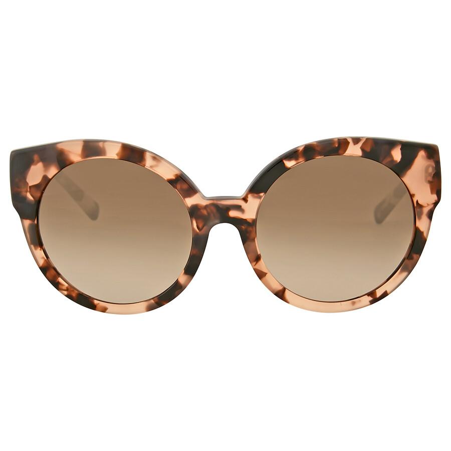 81953512e1 Michael Kors Adelaide I Brown Gradient Cat Eye Sunglasses Item No.  MK2019-302613-55