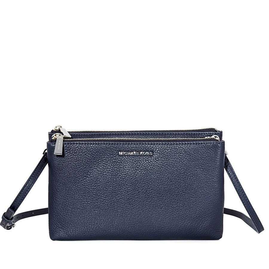 0736f976f974f6 Michael Kors Adele Double-Zip Crossbody Bag- Admiral Item No. 32S7SAFC3L-414