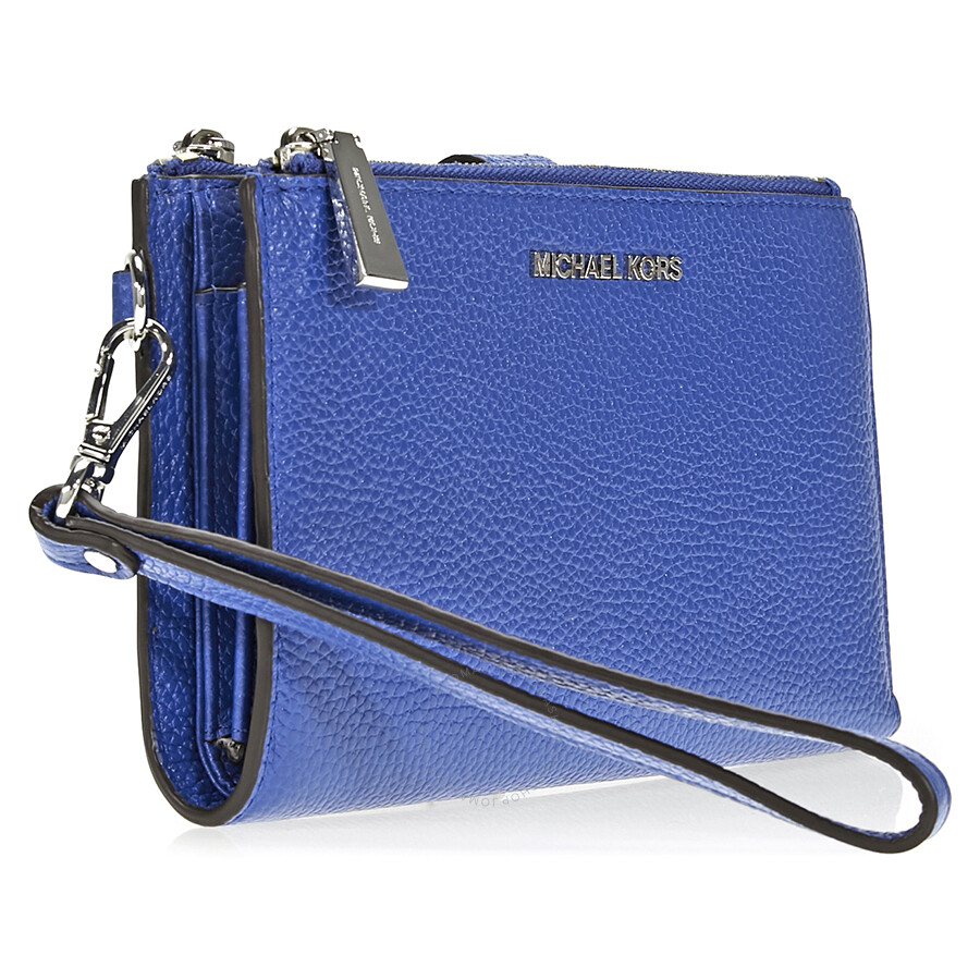 91120dc35644 Michael Kors Adele Double Zip Wristlet - Electric Blue - Adele ...