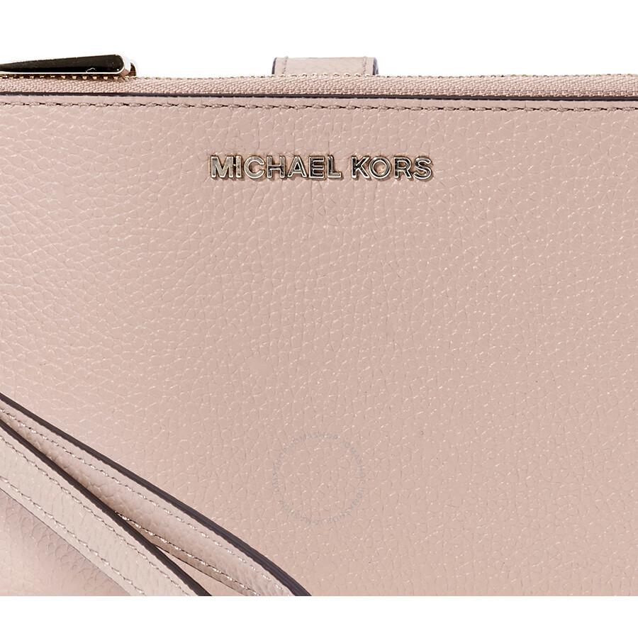 d1f799aff6cd Michael Kors Adele Leather Smartphone Wristlet- Fawn Item No. 32T8TFDW4L-133