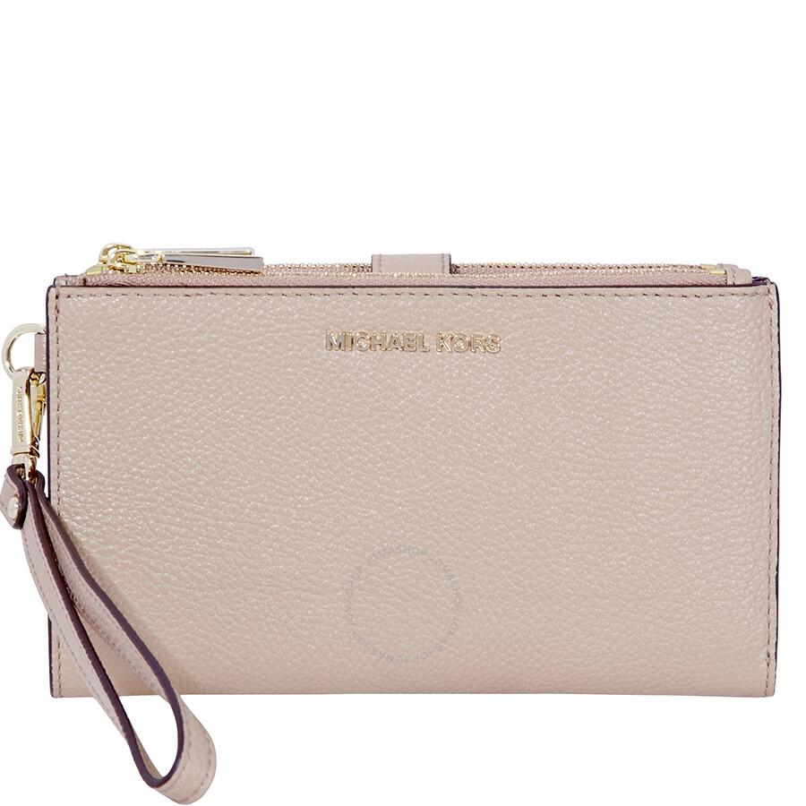 a22bef52bc3c Michael Kors Adele Leather Smartphone Wristlet- Truffle Item No.  32T8TFDW4L-208
