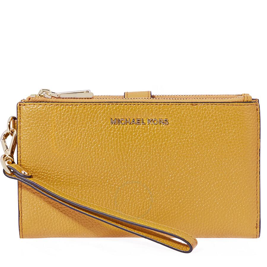 168c81f5a8c4 Michael Kors Adele Smartphone Wristlet - Marigold Item No. 32T7GAFW4L-706
