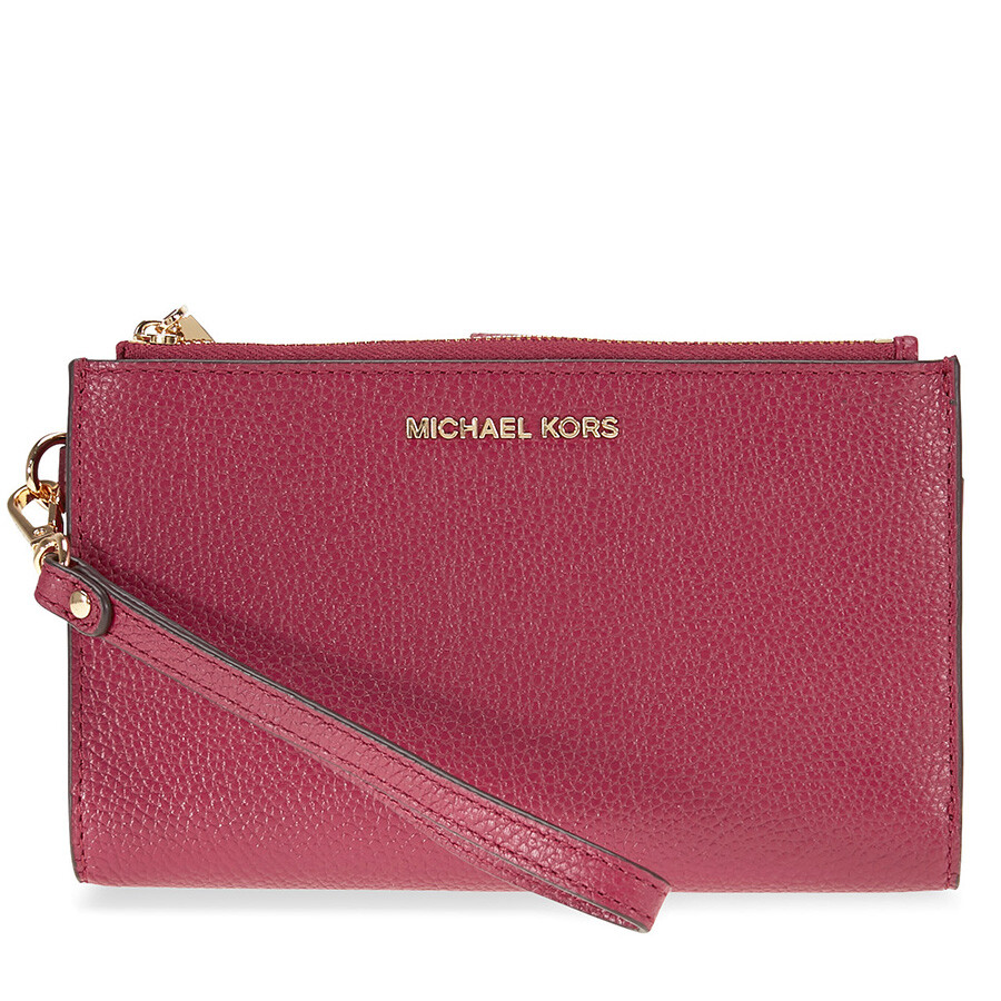 9f198901a17a Michael Kors Adele Smartphone Wristlet - Mulberry Item No. 32T7GAFW4L-666