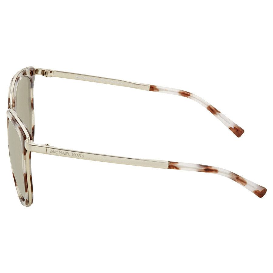 82f516a1f3 ... Michael Kors Adrianna I Silver Mirror Square Ladies Sunglasses MK1010- 11986G-54