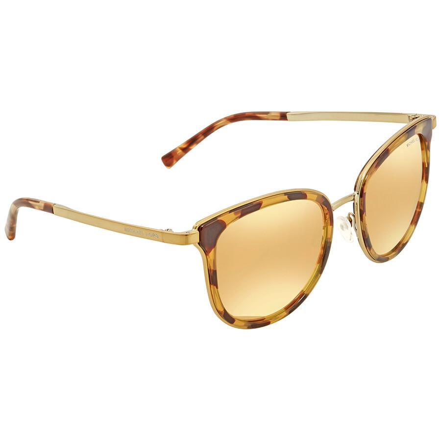 15b16fa59ee Michael Kors Adrianna Square Ladies Sunglasses MK1010-11997J-54 ...
