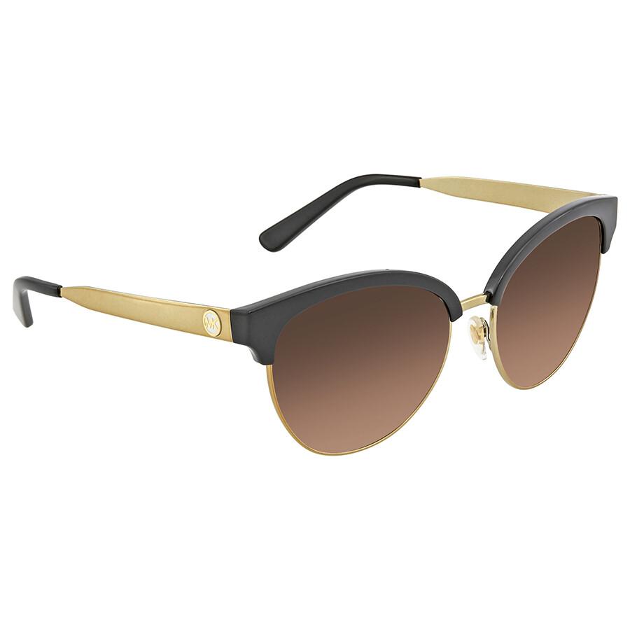 fd775b931d Michael Kors Amalfi Smoke Gradient Cat Eye Ladies Sunglasses MK2057 330513  56 ...