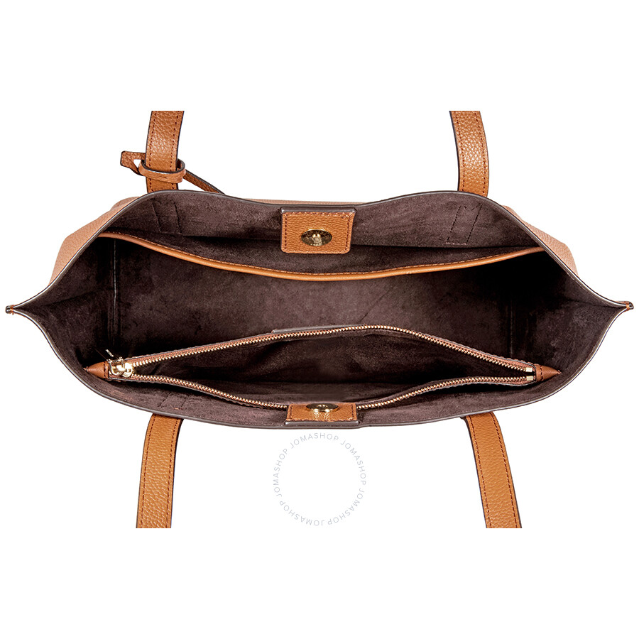 dc9eeb994d04 Michael Kors Ana Medium East West Tote- Luggage - Michael Kors ...