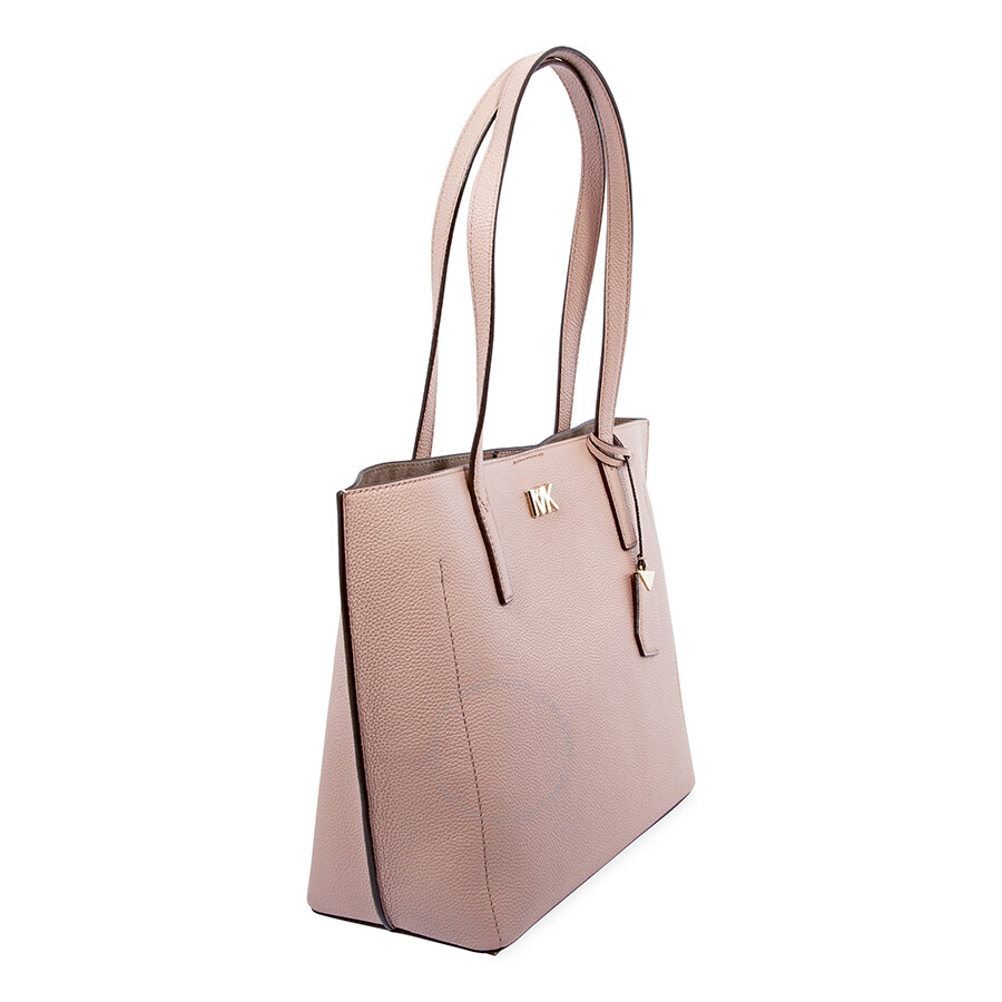 50455dc49756 Michael Kors Ana Pebbled Leather Tote - Fawn - Michael Kors Handbags ...