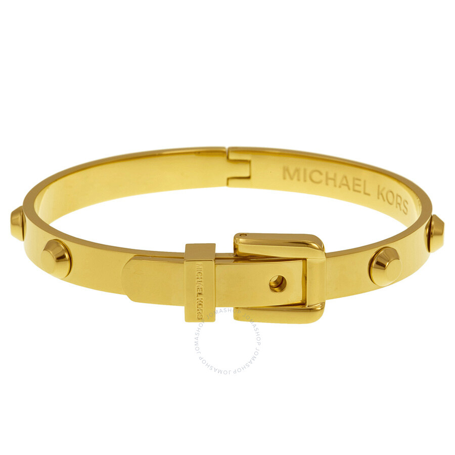 michael kors with bracelet michael kors astor buckle bangle bracelet mkj1819710 5870